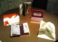 libros de Alberto, Viviana, Gracia, Alejandra y mío :-)